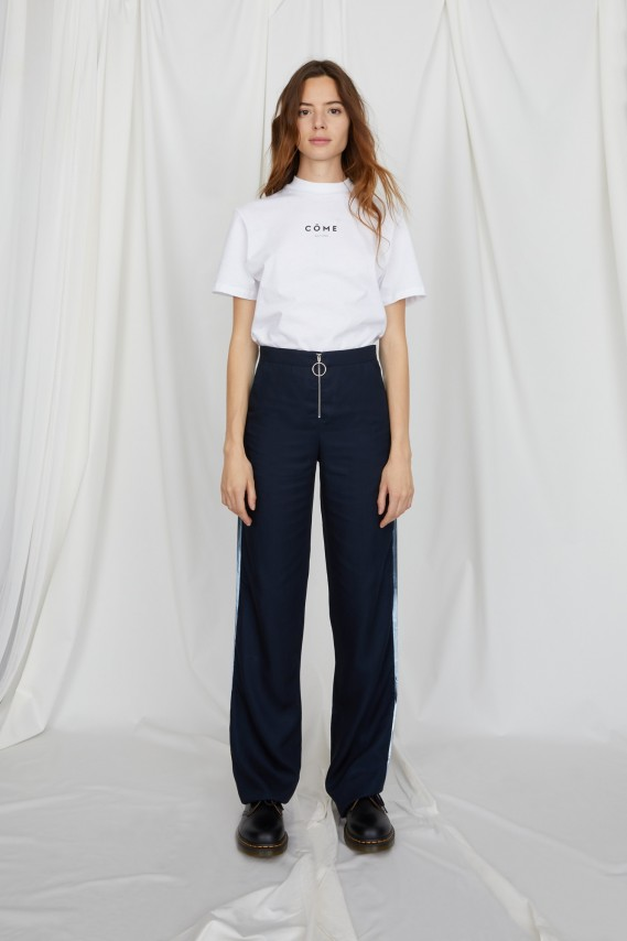 Castor navy trousers