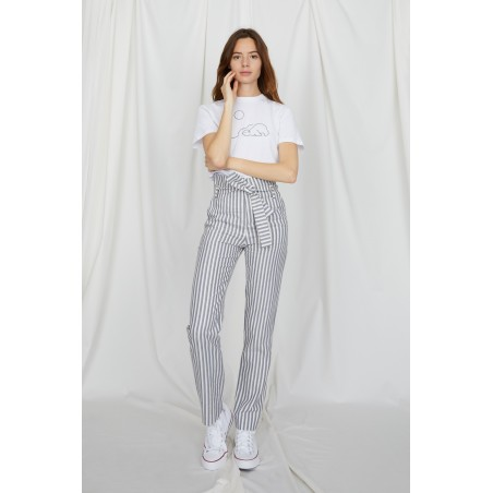 Mimosa stripped trousers