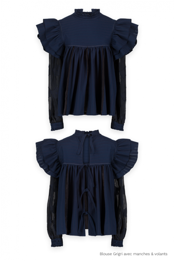 The Grigri blouse (blue)